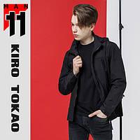11 Kiro Tokao | Японская ветровка на весну-осень 2069 черная, фото 1