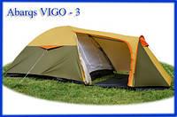Палатка туристическая Abarqs Vigo 3, двухслойная  3х местная , фото 1