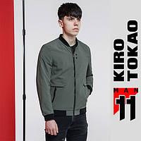 11 Kiro Tokao | Ветровка мужская на весну-осень 3725 серая, фото 1