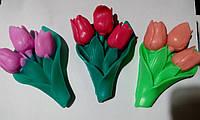 """Мыло для рук """"Букет тюльпанов"""""""