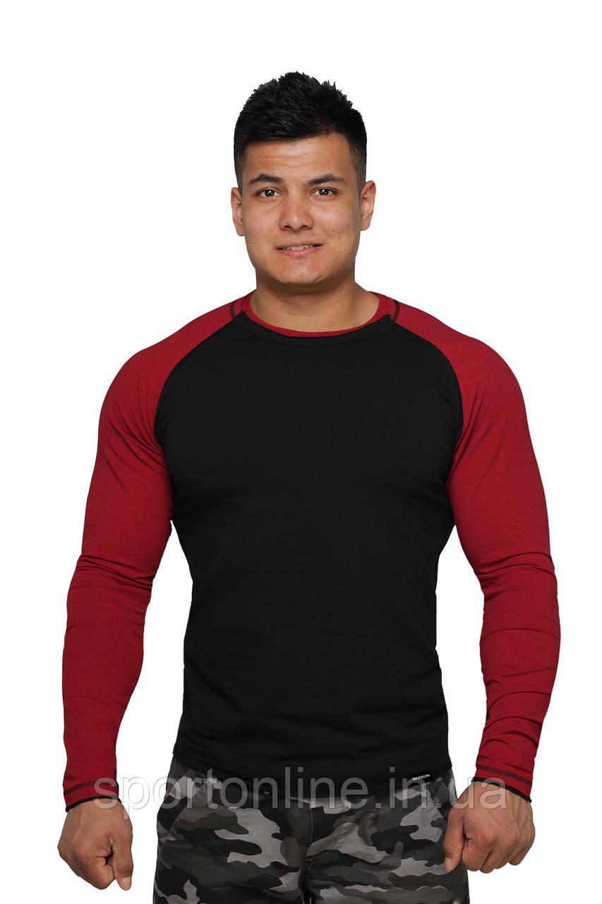 Реглан Long Sleeve BERSERK black/bord