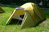Палатка туристическая Abarqs Malwa 3, двухслойная , 3-х местная , фото 1