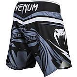 Шорты Venum Sharp 2.0 Fightshorts Black Grey, фото 3
