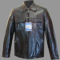 Кожанная мужская куртка 6
