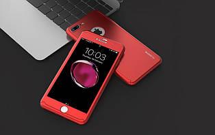 Защитный чехол Floveme для Iphone 6/6s со стеклом, iPaky 360 градусов комплексная защита rubble чохол кейс