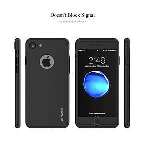 Защитный чехол Floveme для Iphone 6/6s со стеклом, iPaky 360 градусов комплексная защита rubble чохол кейс, фото 2