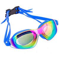 Плавательные очки со стеклами хамелеон Speedo силикон,11152M