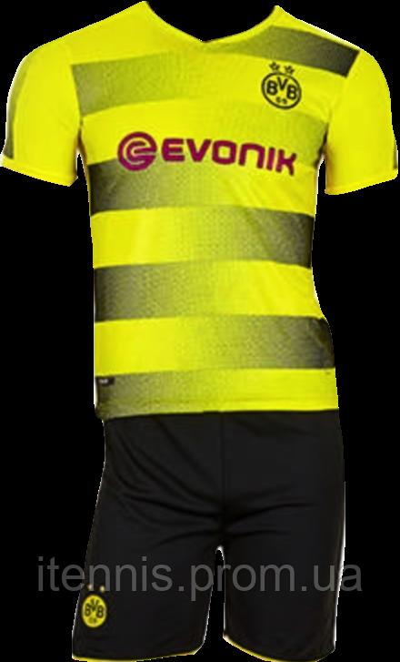 Форма футбольная детская Borussia Dort (XS,S,M,L,XL) 2018 без номера NEW!