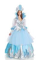 Снежная королева женский новогодний костюм, карнавальный костюм \ размер 44-46; 48-50; 52-54 \ BL - ВЖ239
