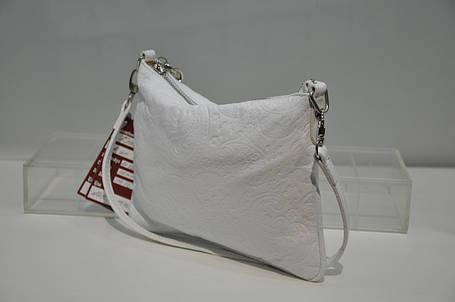 Клатч женский белый 0177-021, фото 2