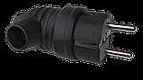 Вилка каучуковая угловая 220В 16А  BEMIS (BK1-1402-2021), фото 3