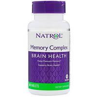 Natrol, Комплекс для пам'яті, 60 Таблеток