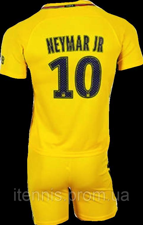 Форма футбольная детская PSG NEYMAR 10 (XS,S,M,L,XL) 2018 гостевая NEW!