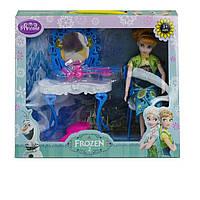 """Трюмо """"Frozen"""" з лялькою ZT8782  в кор. 27*34*15 см"""