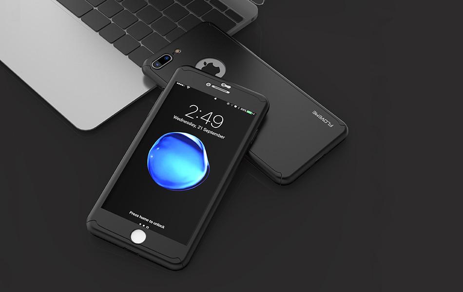 Кейс Floveme 360 для Iphone 6/6s захисний чохол зі склом ipaky