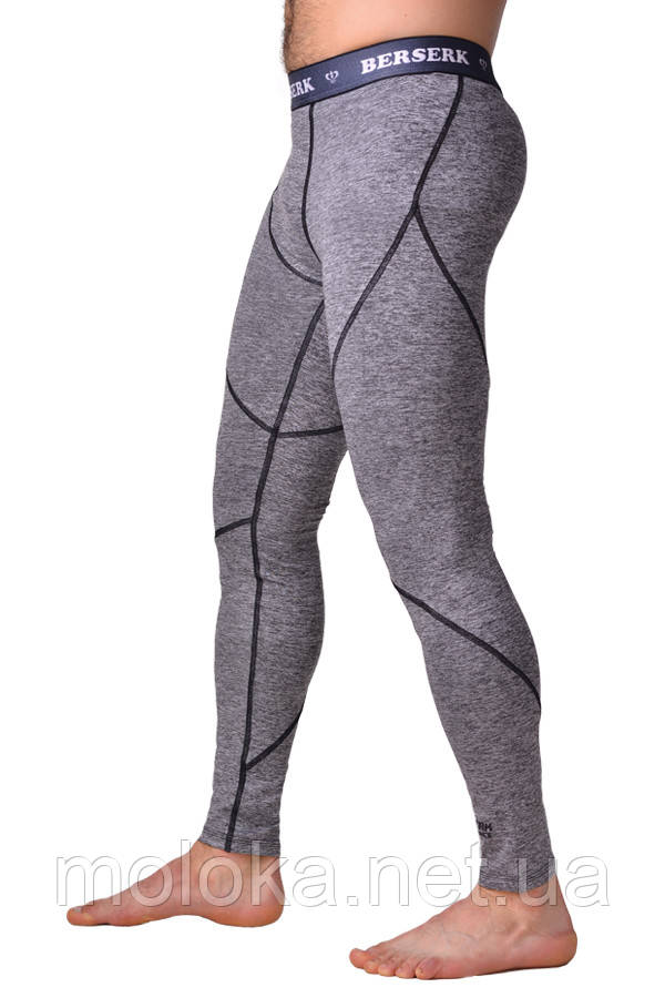 Компрессионные штаны BERSERK F-17 grey