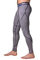 Компрессионные штаны BERSERK F-17 grey, фото 1