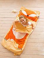 Слипик Sleep Baby (спальный мешок) для детей 170x70 Лисенок. Бесплатная доставка!