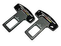 Заглушки ремня безопасности  Mugen Power  (комплект - 2 шт)