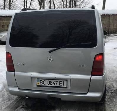 Заднее стекло (ляда) с э.о. на автомобиль Mercedes-Benz Vito 96-12