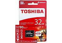 Карта памяти Toshiba microSDHC 32 GB UHS-I EXCERIA M302 +ad U1 R90MB/s