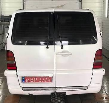 Заднее стекло (распашонка) правая с э.о. на автомобиль Mercedes-Benz Vito 96-09