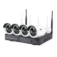 Комплект видеонаблюдения Partizan Outdoor Wireless Kit 4MP 4xIP