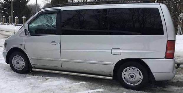 Задний салон, левое стекло на автомобиль Mercedes-Benz Vito 96-06