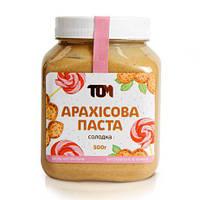 Арахiсова паста солодка, 500 г