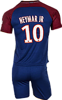 Форма футбольная детская PSG NEYMAR 10 (SX,S,M,L,XL) 2018 домашняя NEW!