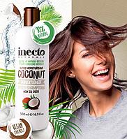 Кондиционер питательный для волос с маслом Кокоса INTECO NATURALS COCONUT CONDITIONER 500 ml