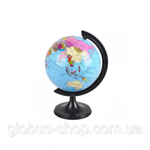 Глобус політичний, 110 мм, укр