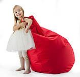 Дитяче крісло-груша з тканини Оксфорд 420, фото 4