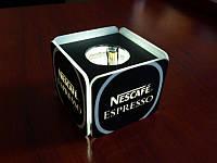 Світловий кубик (насадка) на мікрофон з логотипом (Спосіб нанесення : Аплікація кольоровими плівками; Ширина: 100 мм; Висота: 60мм;), фото 1