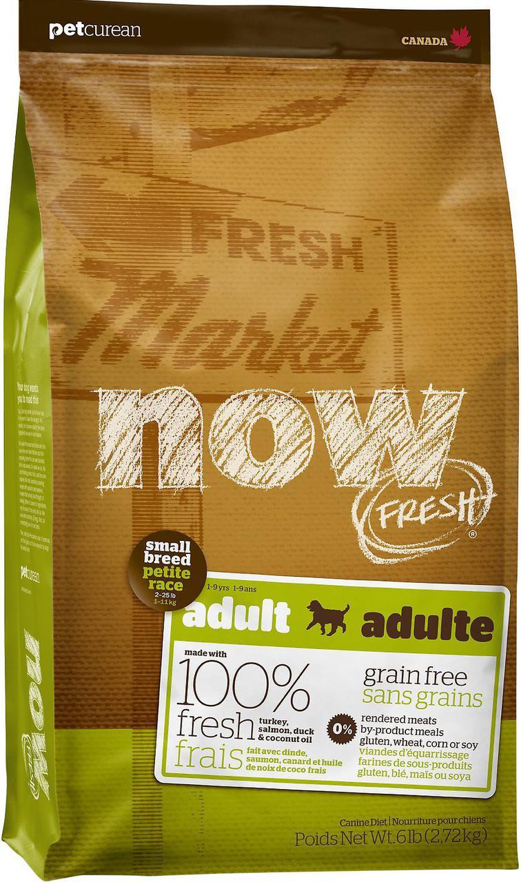 Now Fresh Grain Free Small Breed Turkey, Salmon & Duck беззерновой корм для собак мелких пород, 2.72 кг