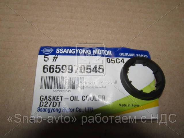Прокладка фильтра масляного Rodius, Stavic, Kyron, Actyon (Sports), Rexton (производство SsangYong) (арт. 6659970545)