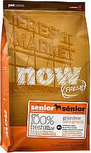 Now Fresh Grain Free Senior Dog Turkey, Duck and Vegetables беззерновой корм для пожилых собак, 11.3 кг