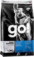 Go! Refresh + Renew Chicken Dog Recipe корм для собак всех возрастов с курицей, 2.72 кг