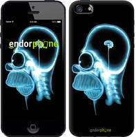 """Чехол на iPhone 5s Гомер. Томография """"652c-21-8088"""""""