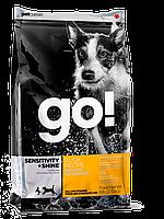 Go! Sensitivity + Shine Duck Dog корм для собак всех возрастов с уткой и овсянкой