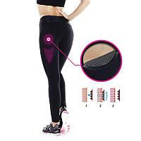 Леггинсы для фитнеса Domyos Shape Booster женские