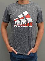Чоловіча спортивна футболка Adidas (Адідас) | розміри: 44-54, сіра