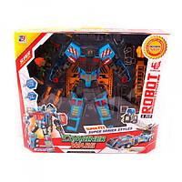 Трансформер робот+кран