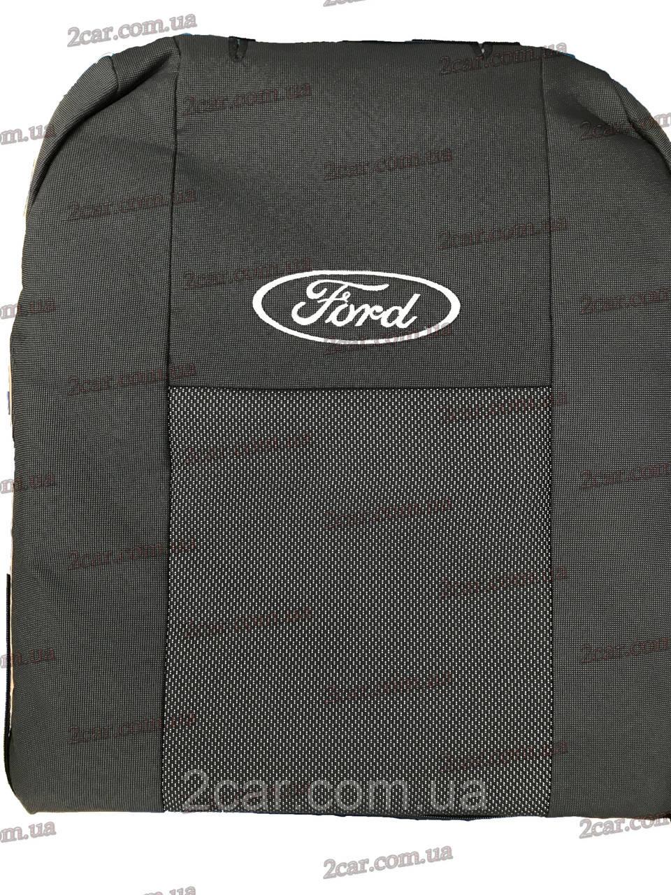 Чехлы в салон модельные Ford Transit 2000- (Prestige_Premium)