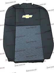 Чехлы в салон модельные Chevrolet Aveo (х/б) 2002 - 2011 (Prestige_Premium)