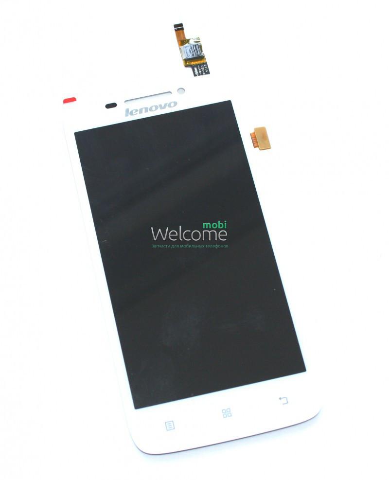 Модуль Lenovo S650 white (оригинал)   дисплей экран, сенсор тач скрин