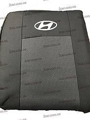 Чехлы в салон модельные Hyundai Accent 1/3 NEW 2011- (Prestige_Budget)