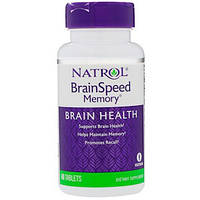 Natrol, Для памяти и скорости работы мозга, 60 таблеток
