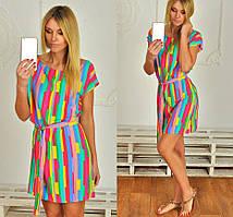 Яркое платье-туника
