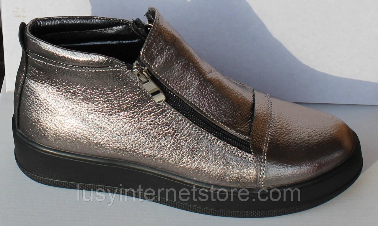 bde473d9a Весенние женские ботинки кожаные, женская обувь кожаная от производителя  модель НП1516-6-1